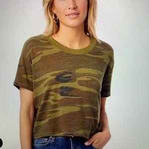 Women's Camoflauge Alternative Apparel T - Shirt